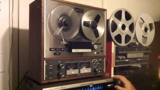 TEAC A 4010S Operations Demo. - ZCUCKOO