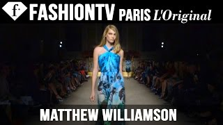 Matthew Williamson Spring/Summer 2015 | London Fashion Week | FashionTV