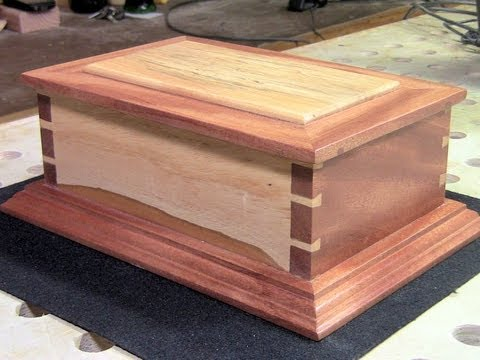 Woodworking - Making a Hand Cut Dovetail Box - YouTube