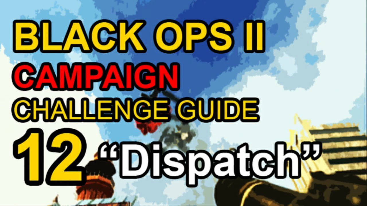 Black ops 2 dispatch available car