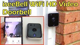 iseeBell Wi-Fi Night Vision HD Video Doorbell