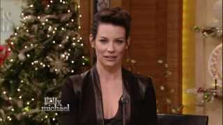 Evangeline Lilly - gorgeous in kelly ripa interview