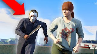 PLAYING AS JASON IN GTA 5 ONLINE! *FRIDAY THE 13TH!* | GTA 5 THUG LIFE #340