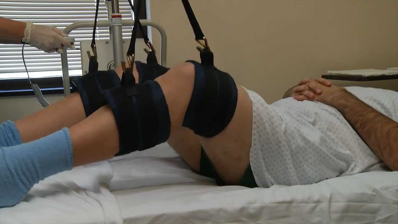 Bariatric Limb Suspension Treatment And Diaper Changing Training Video Youtube