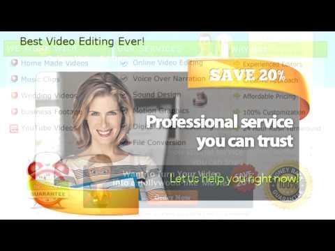 Online video editing