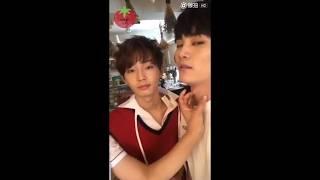 [ENG SUB] Yongguk (+Yehyun+Hyunwoo) Nylon insta live cut