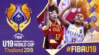Belgium v China - Full Game - FIBA U19 Women's Basketball World Cup 2019