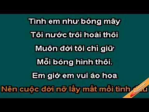Hoa Bang Lang Karaoke   Jimmi Nguyen   CaoCuongPro www yaaya...