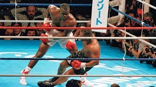 """Mike Tyson first defeat agains James """"Buster"""" Douglas (Highlights)"""