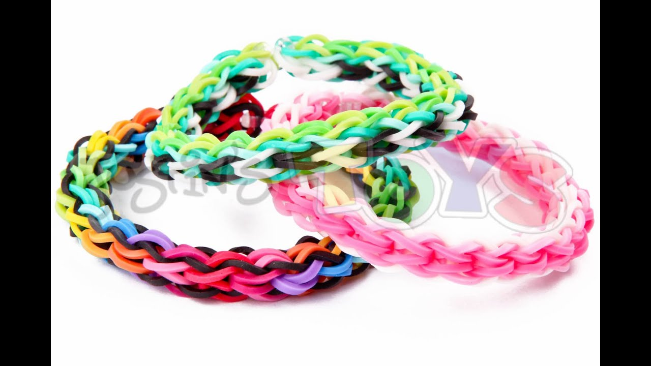 how to make a back 2 front rainbow loom bracelet easy