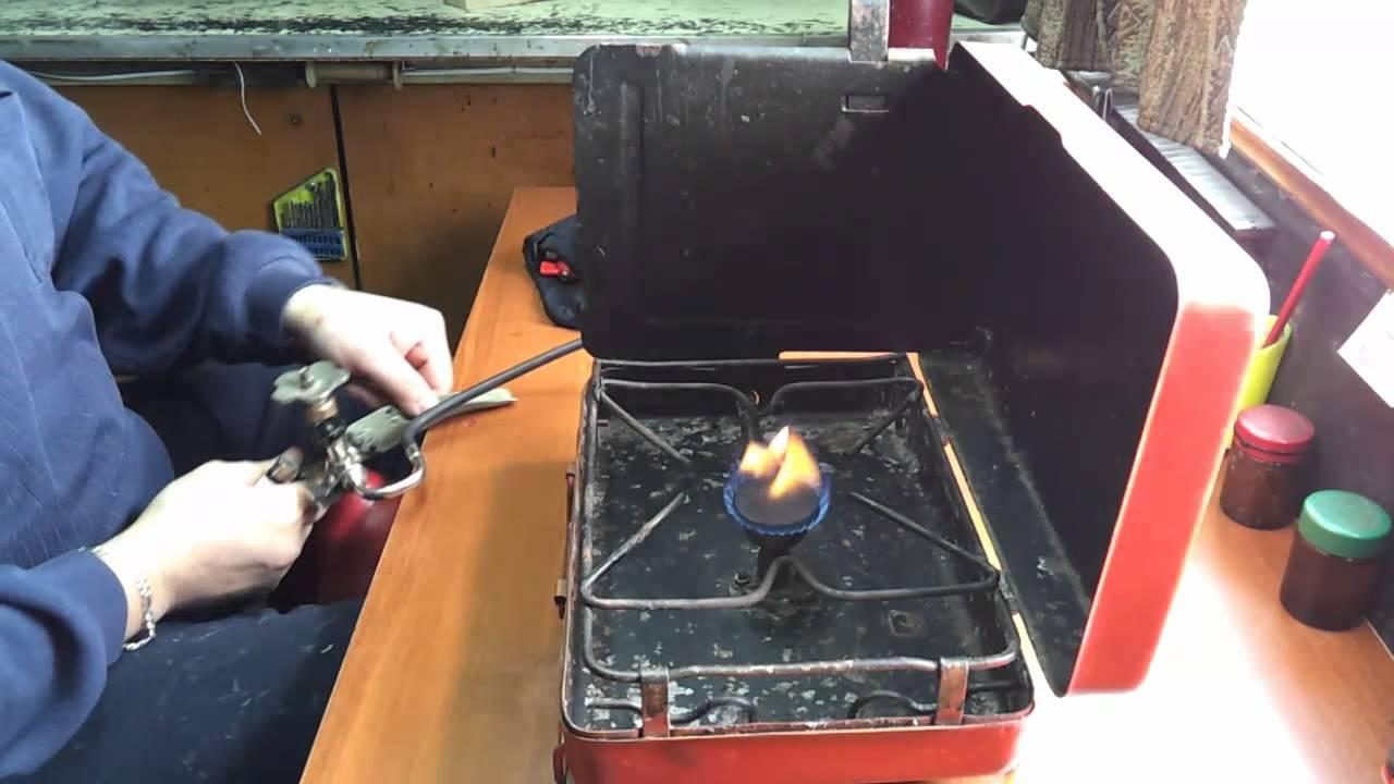 Портативная газовая плита с баллоном своими руками