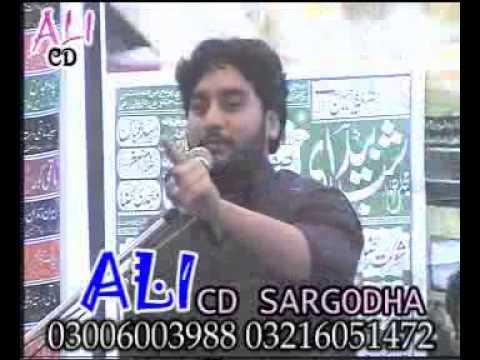 Zakir  Waseem Abbas Baloch Yadgar Majlis At Wazerabad video
