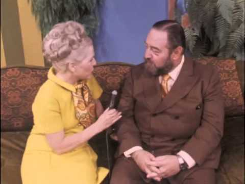 Bette Rogge interviews Sebastian Cabot about the popularity of his TV series