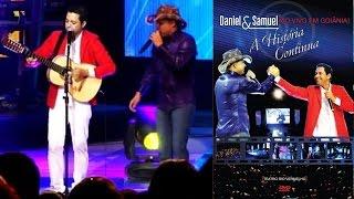 DVD A HISTORIA CONTINUA DANIEL E SAMUEL