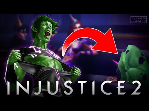Injustice 2: New Hints at Beast Boy Being DLC!!