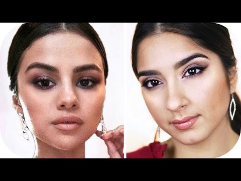 SELENA GOMEZ AMAs Red Carpet Make Up Look   Sanny Kaur thumbnail