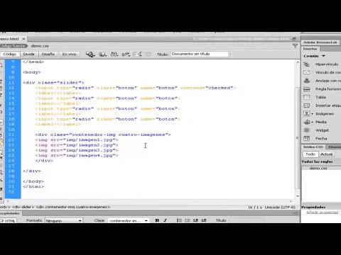 Tutorial: Slider responsive unicamente con CSS3 1/4