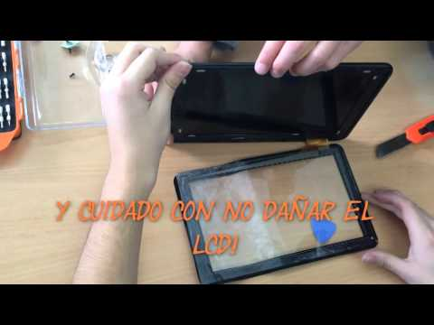 Como cambiar pantalla de tablet