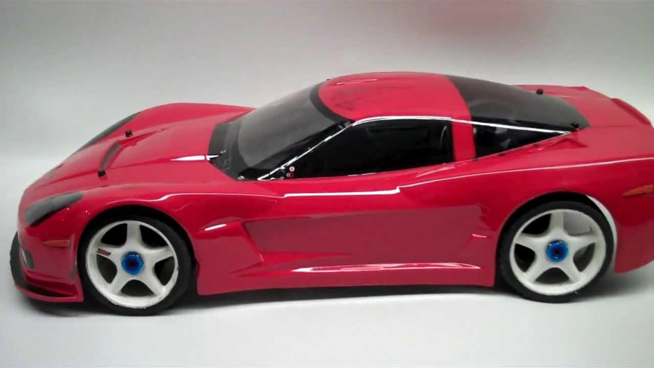 Kyosho Inferno Gt2 Ve Race Spec 07 Corvette C6 R Mamba