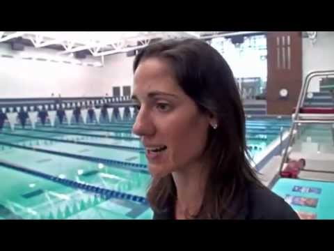 Olympic silver medalist Kristy Kowal gives advice