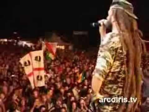 Alborosie & Shengen Clan band – live @ Rototom Sunsplash 2009 – Osoppo (Italy) – Full Concert