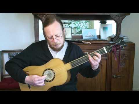 Gaspar Sanz - Villanos - Baroque Guitar