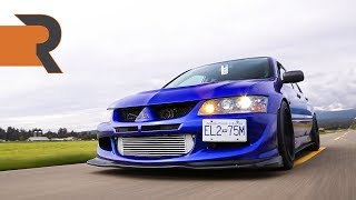 600+HP Mitsubishi Lancer Evo 8 | An Overload Of E85 In A 2.3L Stroker