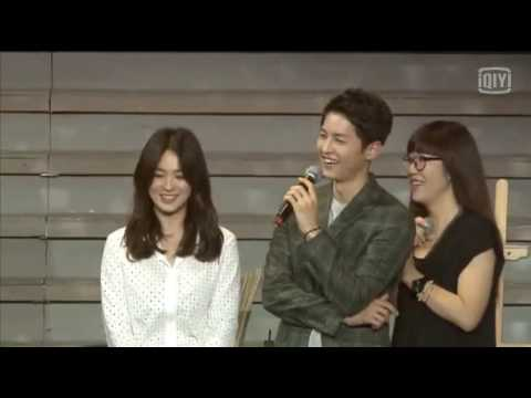 160617 송중기 송혜교 송송커플 Song Hye Kyo Song Joong Ki Chengdu Fan Meeting Part 2 Song Song Couple 宋仲基 宋慧乔