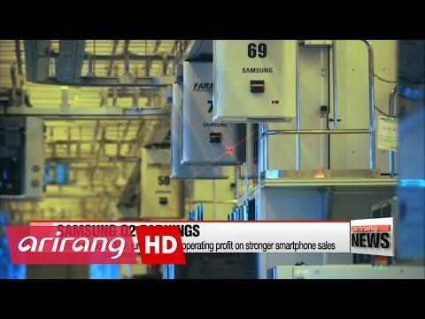 Samsung Electronics reports 18% gain in Q2 operating profit