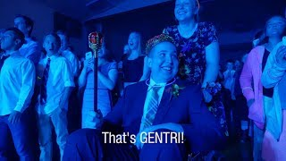 "Young man diagnosed with brain tumor gets surprised by GENTRI at ""surprise  prom"""
