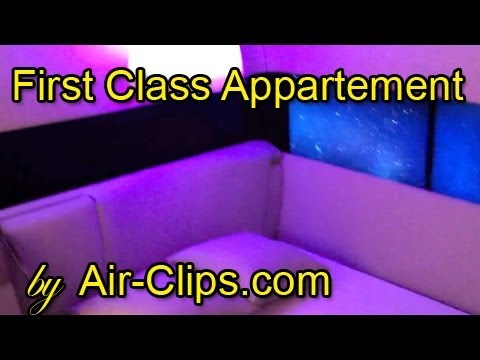 First Class Appartement - world's LARGEST & BRAND NEW! Discovered on exhibition by [AirClips]