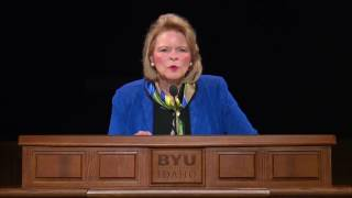 "Sheri Dew, ""Will You Engage in the Wrestle?"" BYU-Idaho Devotional"