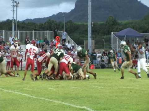 Kapaa vs Kalani high school Football KIF
