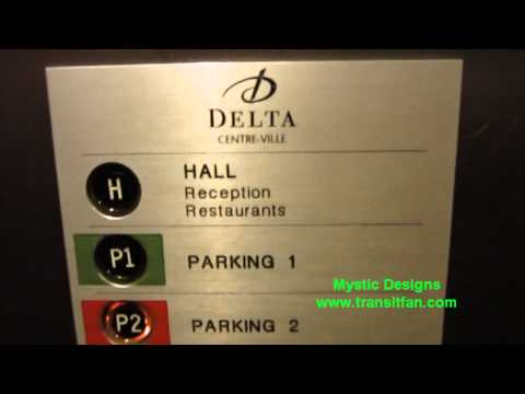 Parking Lot Elevator - Delta Hotel Montreal