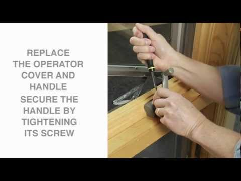 How to Replace a Split Arm Casement Operator