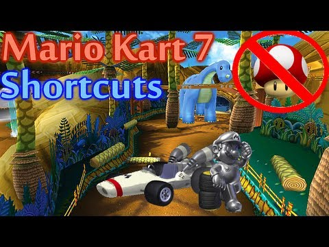 Mario Kart 7 - All Shortcuts (Shroomless)