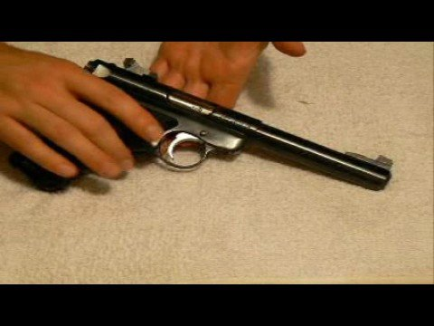 Ruger Mark III Field Stripping PART 1