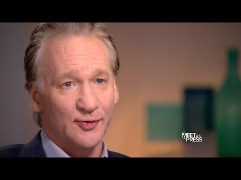 2014 Interview with Bill Maher on NBC's 'Meet The Press'