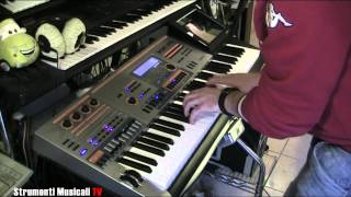 Casio XW-P1 - Demo by Max Tempia v.3.0