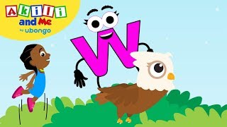 Meet Letter W! | Learn the Alphabet with Akili | Cartoons from Africa for Preschoolers