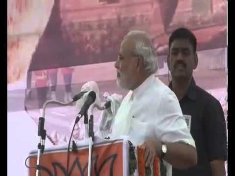 Narendra Modi addresses Ex-Servicemen Rally in Rewari, Haryana