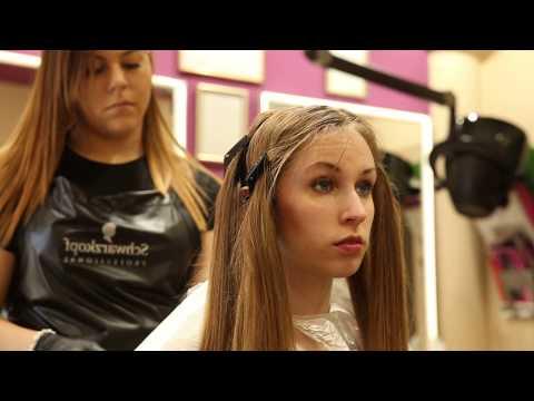 Szandi rászánta magát élete első hajfestésére, egy szép ombre melírt készített neki  Laura