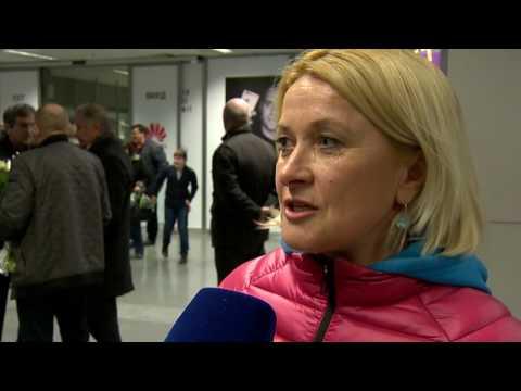 Нина Ильина, мама Юлии Джимы. Интервью во время встречи биатлонистов после сезона 2016/17