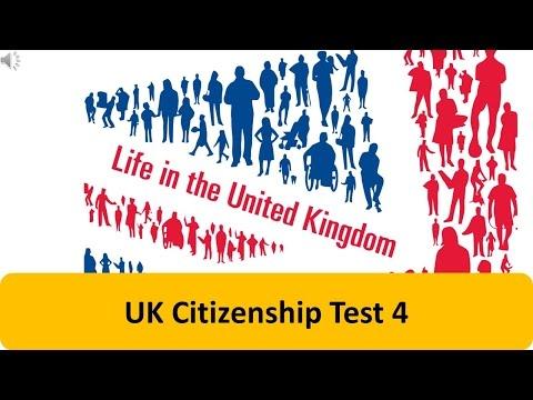 UK Citizenship Test 4