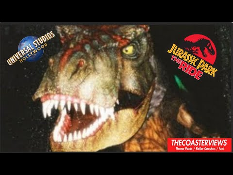 Jurassic Park The Ride River Adventures (HD POV) Universal Studios Hollywood Complete