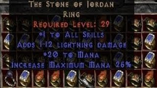 The Stone of Jordan - Diablo Lore & History
