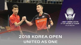 United Korea as one | 2018 Korea Open