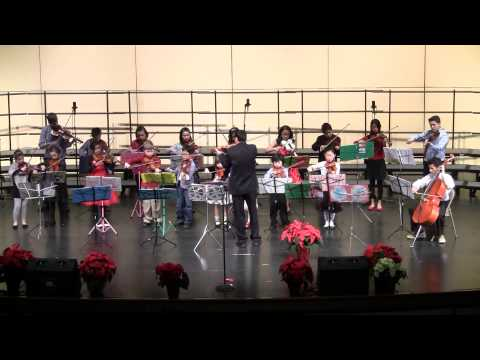 Orchestra Performance (2012) Christmas Program - St Mary Magdalen School, Everett, WA