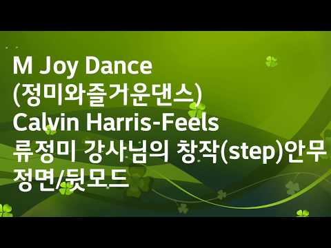 M Joy Dance (정미와즐거운댄스)-Calvin Harris-Feels-류정미 강사님의 (기본 Step) 창작안무 MP3