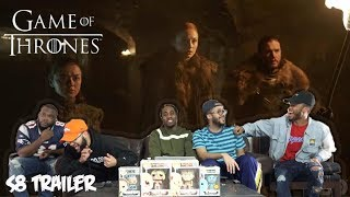 Game of Thrones | Season 8 | Official Tease: Crypts of Winterfell (HBO) REACTION!!